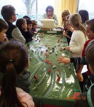 2ème intervention du SmageAa avec la classe d'Arques autour de la maquette