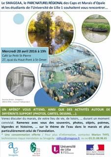 Affiche de communication Apér'eau mémoire