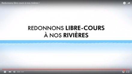 vidéo de l'Agence de l'Eau Rhône Méditerranée Corse et de l'ONEMA