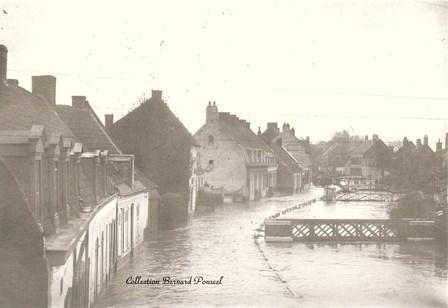 Crue du 01/11/1894 à St-Omer (Source : M. Bernard PONSEEL)