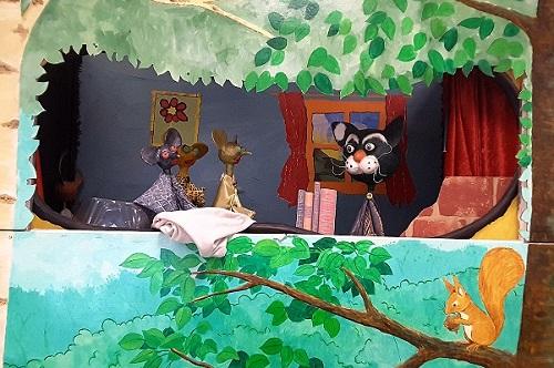 Sacha le gros chat animation pédagogique