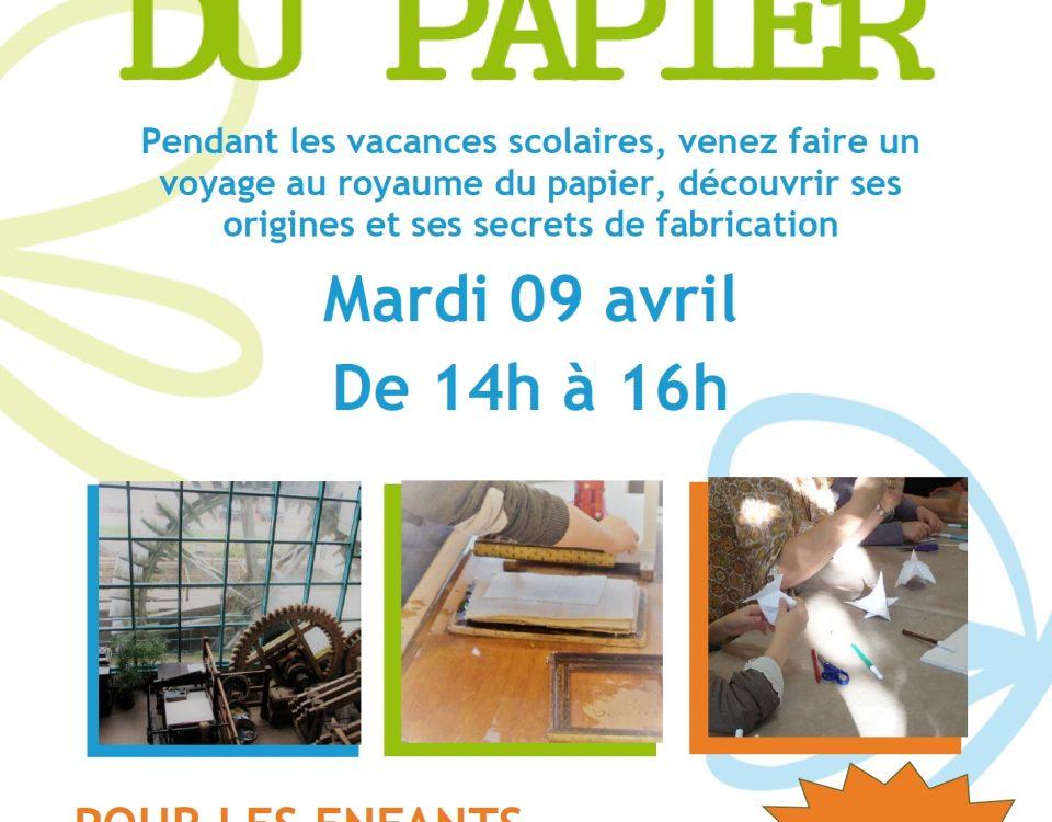 Atelier Maison du Papier 9 avril 2019