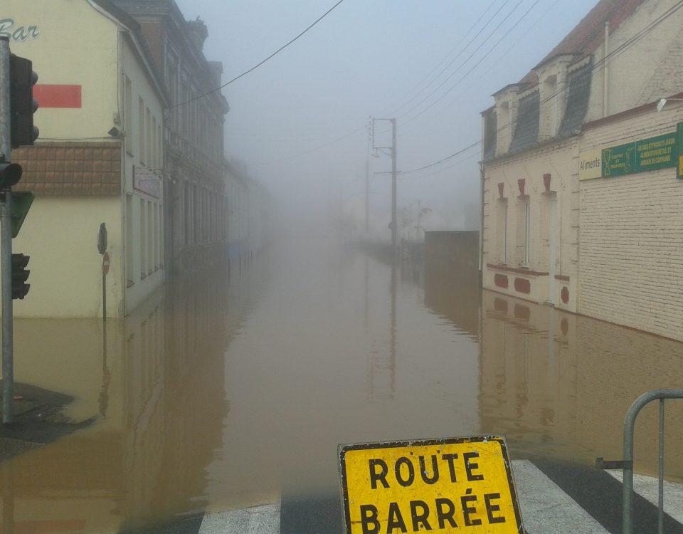 SmageAa | inondation du 30 octobre 2012 - Fauquembergues