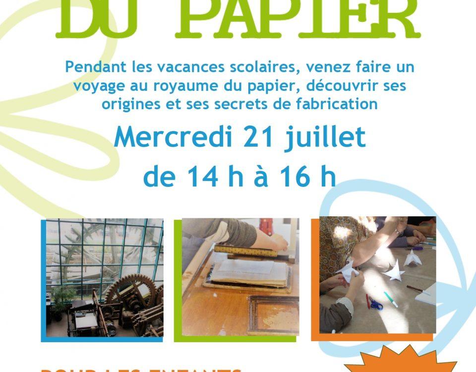 SmageAa | Maison du Papier | Atelier juillet 21